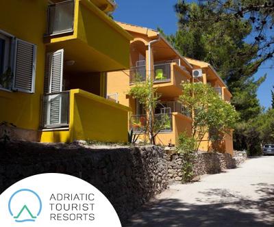 Turisticna vas Zelena Punta, apartmaji 3*, Ugljan