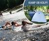 Kamp Pezdirc, Griblje: lampiranje ob reki Kolpi