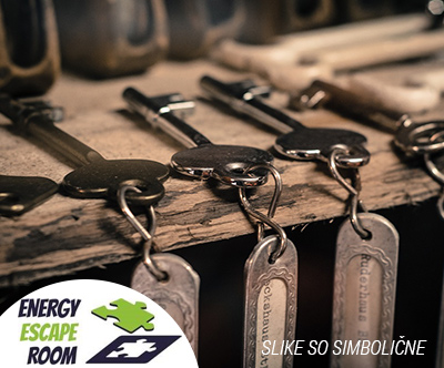 Soba pobega v Domžalah, Energy escape room