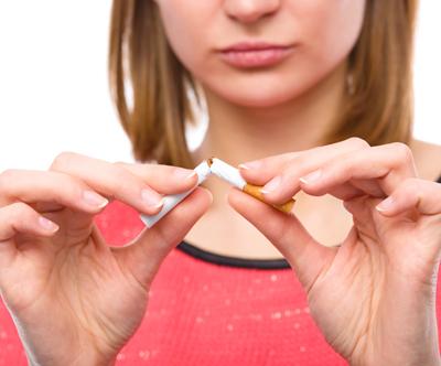 Odvajanje od kajenja, laserska terapija
