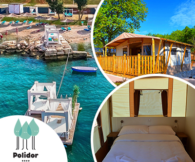 Polidor Camping Park: glamping šotori v Istri