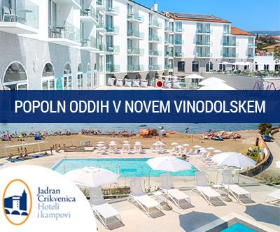 Family hotel Lišanj 4*, Novi Vinodolski: poletni oddih