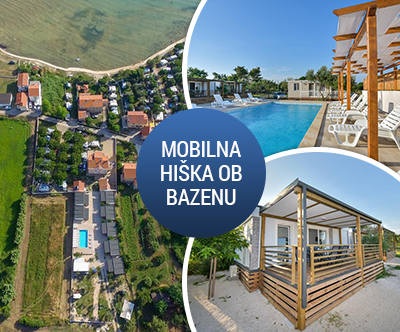 Mobilna hiška Medanic za do 6 oseb v Privlaki pri Zadru