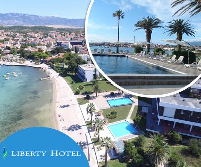 Liberty Hotel, Pag: poletne pocitnice s polpenzionom
