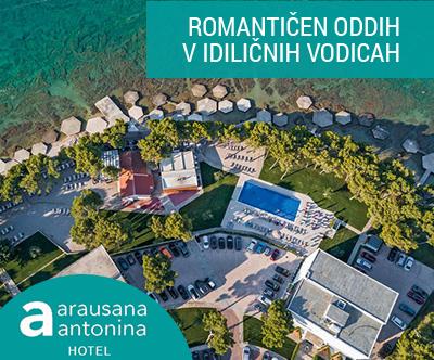 Villas Arausana&Antonina 4*, Vodice; 2x nocitev za 2