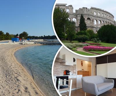 Apartma Glorija 4*, Pula: poletne počitnice