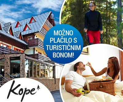 Lukov dom na Kopah: turistični bon