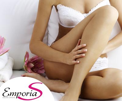 Salon lepote EmporiaS: depilacija na predelu celih nog