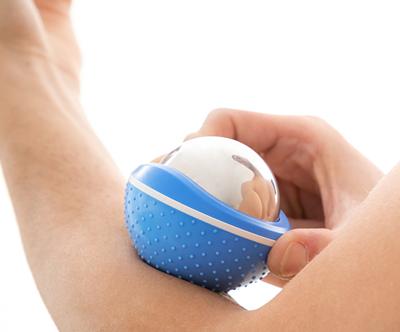 Masažna žoga 2 v 1 s hladilnim učinkom Bolk InnovaGoods