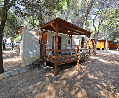 Kamp Porat, Pag: mobilne hiške