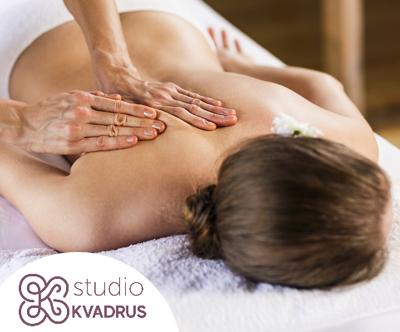 Studio Kvadrus: protibolecinska masaža po izbiri