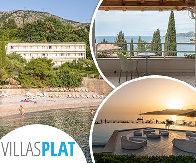 Hotel Villas Plat 3*, Dubrovnik: poletni oddih