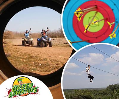 Adventure Park Green, Sukošan: adrenalinski paket