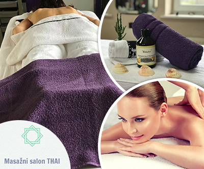 Masaža telesa, 80 min, Salon Thai