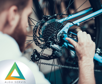 ALGU servis: delni servis kolesa