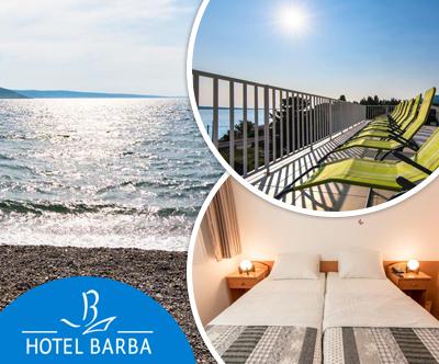 Hotel Barba, Paklenica: špica poletne sezone
