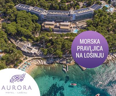 Hotel Aurora 4*, Mali Lošinj: jesenske počitnice
