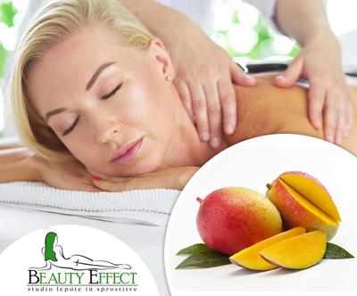 Studio Beauty Effect: poletna masaža telesa, 60 min