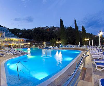 Hotel Mimosa, Hedera, Narcis 4*, Rabac: poletni oddih