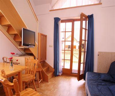 Apartma v Moravskih toplicah: oddih za do 6 oseb