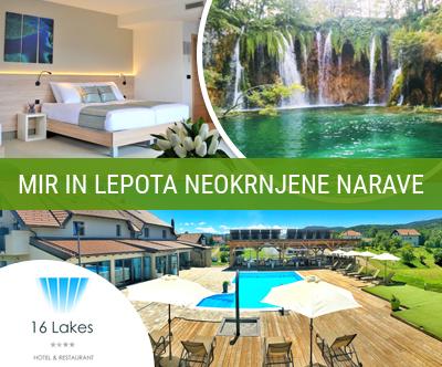 16 Lakes Hotel 4*: čarobni oddih z zajtrkom