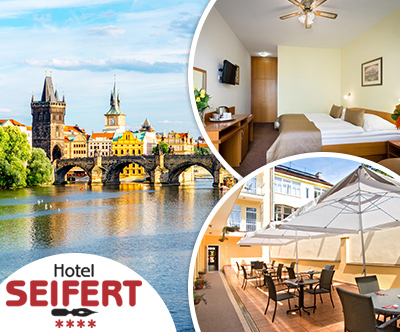 Hotel Seifert 4*, Praga: odlicna cena za 2 osebi