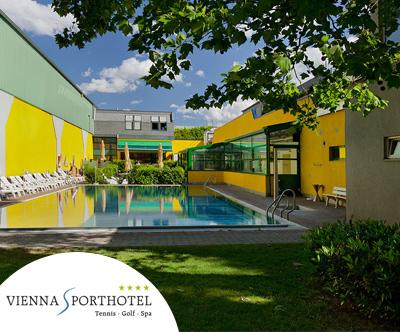 Vienna Sporthotel 4*, Dunaj: oddih v dvoje
