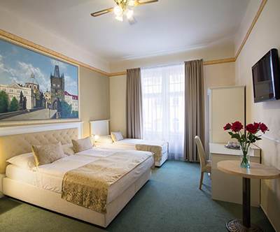 Hotel Taurus 4*, Praga: oddih v prijetni praški četrti