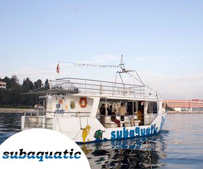 Panoramska vožnja z ladjo Subaquatic ob slovenski obali