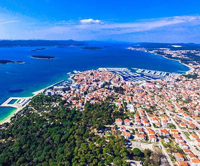 Hotel Bolero 3*, Biograd na Moru: poletni oddih, 8 dni