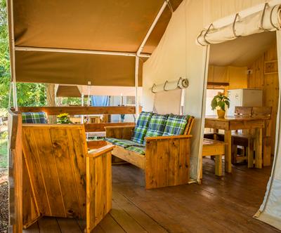 Kamp Aminess Maravea Camping Resort, Mareda: glamping