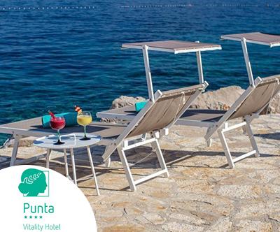 Vitality hotel Punta 4*, Veli Lošinj: 6-dnevni oddih