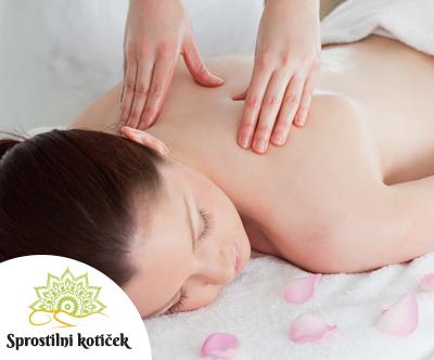 Vrhunska masaža hrbta s protibolecinsko kremo