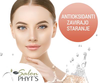 Kozmetični salon Phyt's: nega obraza z antioksidanti