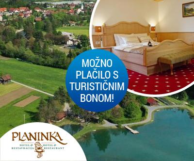 Hotel Planinka 4*, Ljubno pri Savinji: turistični bon
