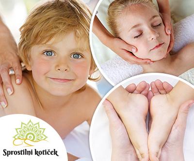 Salon Sprostilni kotiček: Otroška masaža