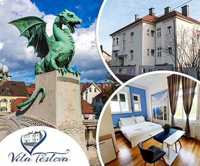 B&B Vila Teslova, Ljubljana: turistični bon