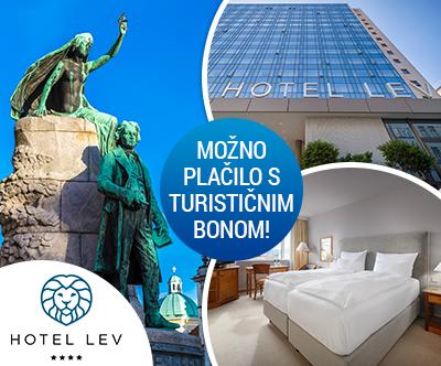 Hotel Lev 4*, Ljubljana: turistični bon