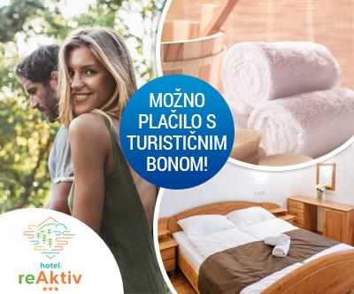 Hotel reAktiv 3*, Zrece: turistični bon