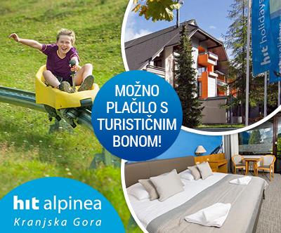 Hotel Kompas 4*, Kranjska Gora: turistični bon