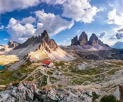 Pohod okoli Tre Cime, Dolomiti, Italija: izlet
