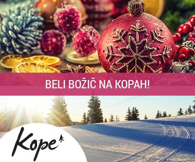 Lukov dom, Kope: božični smučarski paket