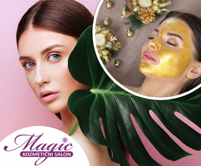 Kozmetični salon Magic. zlata nega obraza, 60 min
