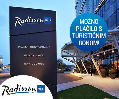 Radisson Blu Plaza Hotel 4*, Ljubljana: turistični bon