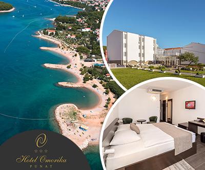 Hotel Omorika 3*, Punat, otok Krk: oddih s polpenzionom