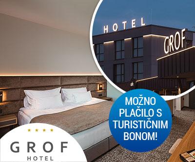Hotel Grof, 3 dnevni oddih za 2 osebi