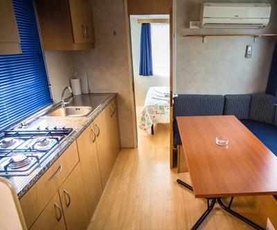 Kamp Arena Stoja, Pula: najem mobilne hiške