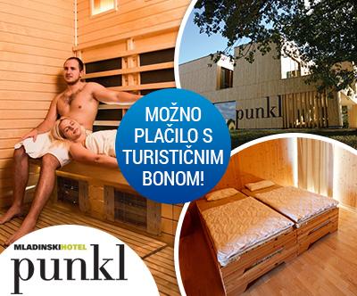 Mladinski hotel Punkl, Ravne: turistični bon