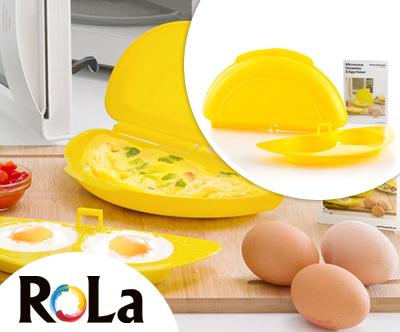 Kakovostna posoda za peko jajc