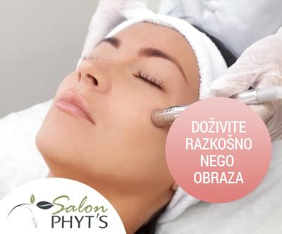 Kozmetični salon Phyt's, diamantni piling